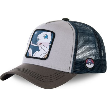 Capslab Mew MEW1 Pokémon Trucker Cap grau und blau