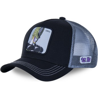 Capslab Cell CELB Dragon Ball Black and Grey Trucker Hat