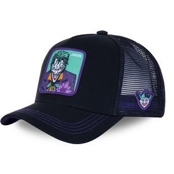 Capslab Joker JKR2 DC Comics Black and Purple Trucker Hat