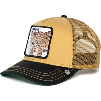 Goorin Bros. Jaguar Brown and Black Trucker Hat