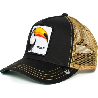Goorin Bros. Toucan Tucan Black and Golden Trucker Hat