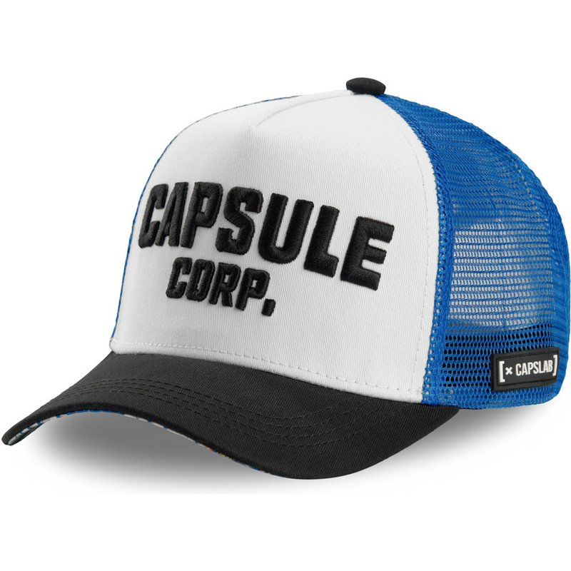capslab-capsule-corporation-cor-dragon-ball-white-blue-and-black-trucker-hat