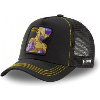 Capslab Golden Frieza FRI3 Dragon Ball Black Trucker Hat