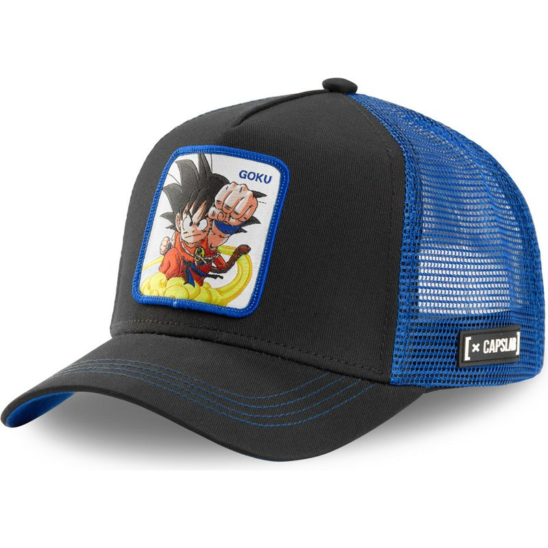capslab-kid-son-goku-gok4-dragon-ball-black-and-blue-trucker-hat