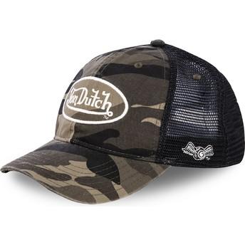 Von Dutch ARMY02 Camouflage Trucker Hat