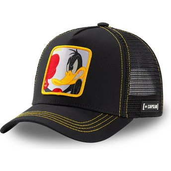 Capslab Daffy Duck LOO DUK2 Looney Tunes Black Trucker Hat