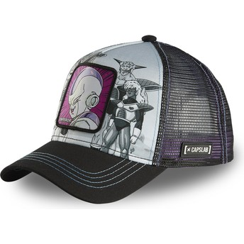 Capslab Frieza ARM CL Dragon Ball Grey and Black Trucker Hat