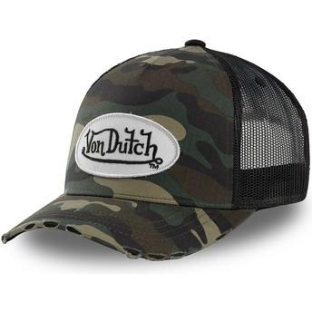 Von Dutch Youth KID_CAMO05 Camouflage Trucker Hat