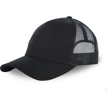 Von Dutch Youth KID_LOFB04 Black Trucker Hat