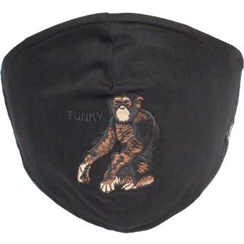 Goorin Bros. Silly Monkey Black Reusable Face Mask