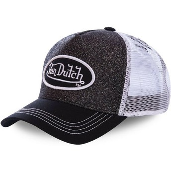 Von Dutch WH2 Black and White Trucker Hat