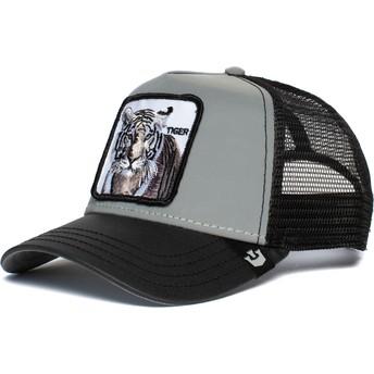 Goorin Bros. Tiger Instinct Only Grey and Black Trucker Hat