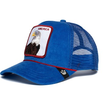 Goorin Bros. Eagle America For Real Blue Trucker Hat