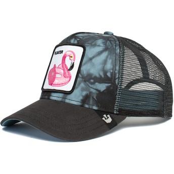 Goorin Bros. Flamingo Pool Partaaaay Black Trucker Hat