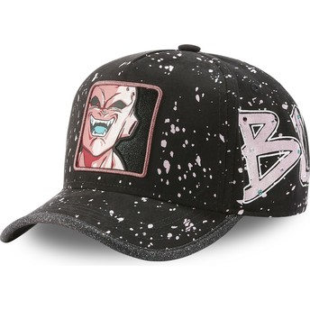 Capslab Curved Brim Kid Buu TAG BUU Dragon Ball Black Adjustable Cap