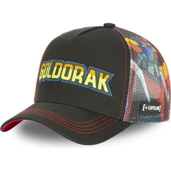 Capslab Goldorak ATK2 UFO Robot Grendizer Black Trucker Hat