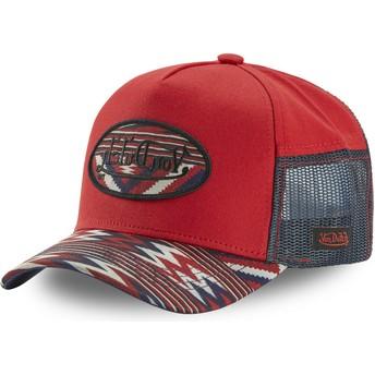 Von Dutch ATRU INC Red Trucker Hat