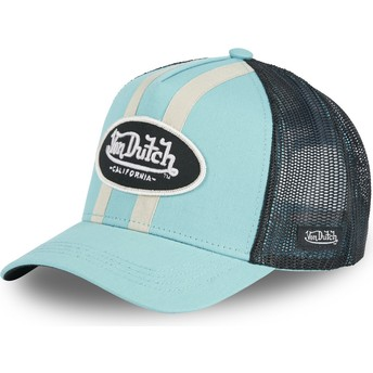 Von Dutch STRI T Blue Trucker Hat