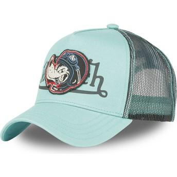 Von Dutch Wolf WOLF TU Blue Trucker Hat