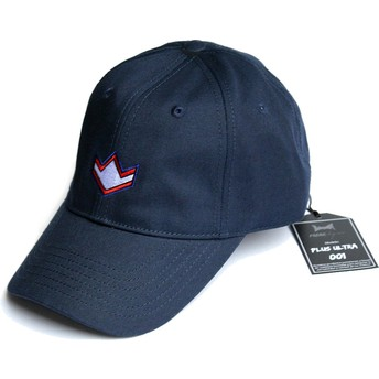 FreakElegance Curved Brim All Might Plus Ultra My Hero Academia Navy Blue Adjustable Cap