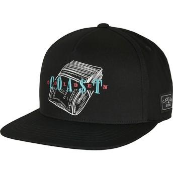 Cayler & Sons Flat Brim WL Golden Coast Black Snapback Cap