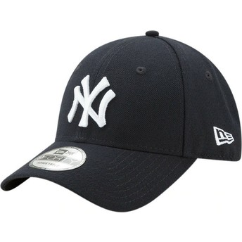New Era Curved Brim 9FORTY The League New York Yankees MLB Adjustable Cap verstellbar marineblau