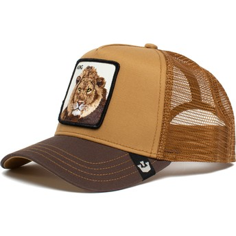 Goorin Bros. Lion King Mane Man The Farm Brown Trucker Hat