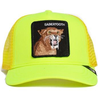 Goorin Bros. Sabertooth Tootache The Farm Yellow Trucker Hat