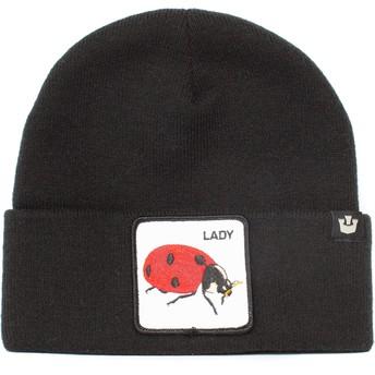 Goorin Bros. Ladybug Hey Lil Lady The Farm Black Beanie