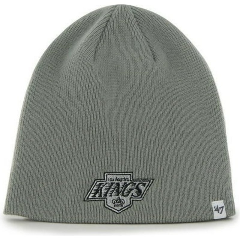 47-brand-los-angeles-kings-nhl-beanie-mutze-grau