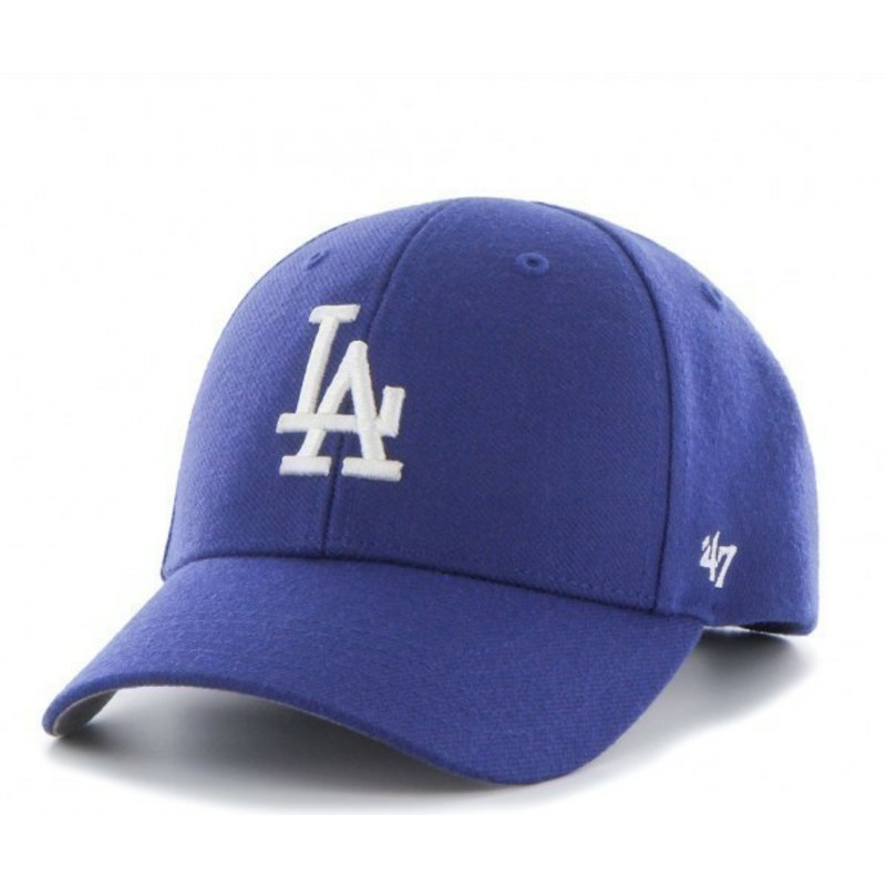 47-brand-curved-brim-los-angeles-dodgers-mlb-cap-blau