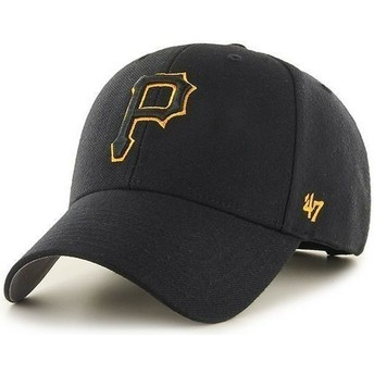 47 Brand Curved Brim Pittsburgh Pirates MLB Cap schwarz