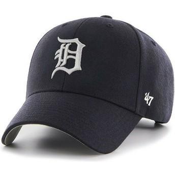 47 Brand Curved Brim MLB Detroit Tigers Smooth Cap marineblau