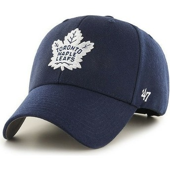47 Brand Curved Brim NHL Toronto Maple Leafs Cap marineblau