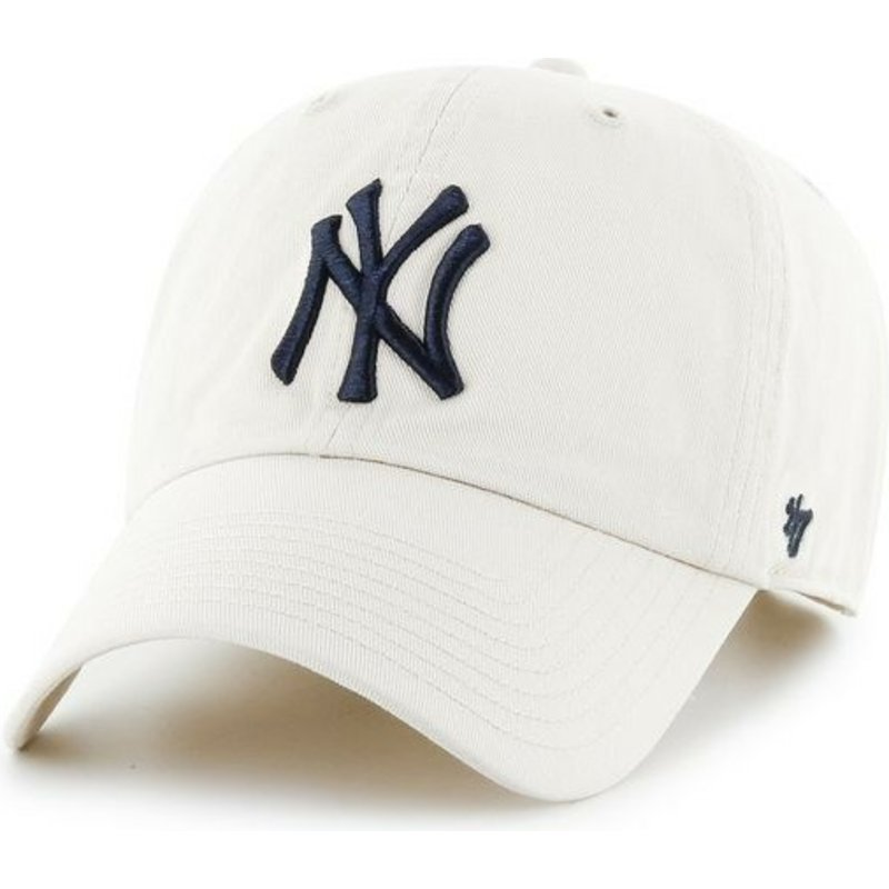 47-brand-curved-brim-grosses-vorderes-logo-mlb-new-york-yankees-cap-hellbeige