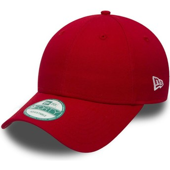 New Era Curved Brim 9FORTY Basic Flag Adjustable Cap rot